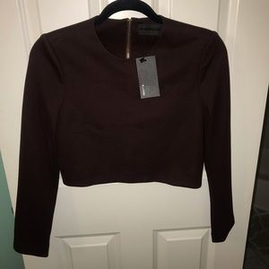 NWT Blaque Label Cropped Long Sleeve